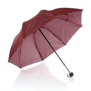 kırmızı kalp şemsiye