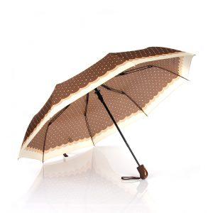 kahverengi şemsiye