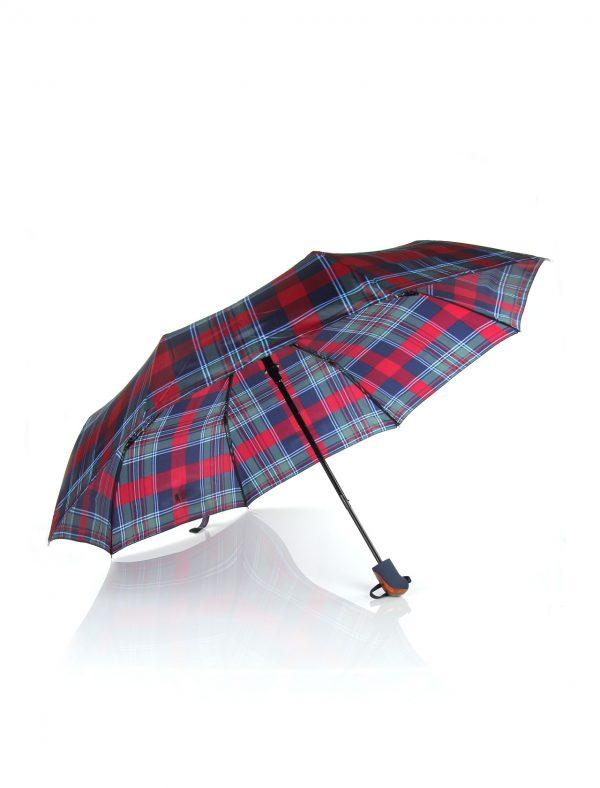 kareli şemsiye